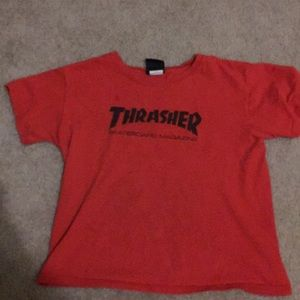 Red Thrasher Tee